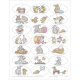 Happy Hoppers Oval Sticker Sheets