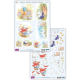 Humphrey's Corner Die Cut Decoupage Sheets