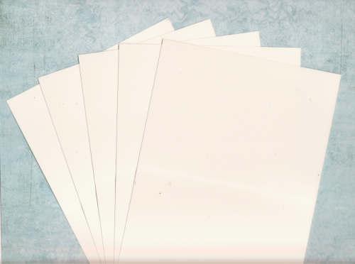 10 C6 Card Blanks Cream