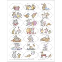 Happy Hoppers Oval Sticker Sheet