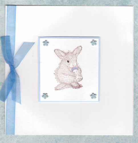 NB11 Baby Boy Card Baby Itty Bit