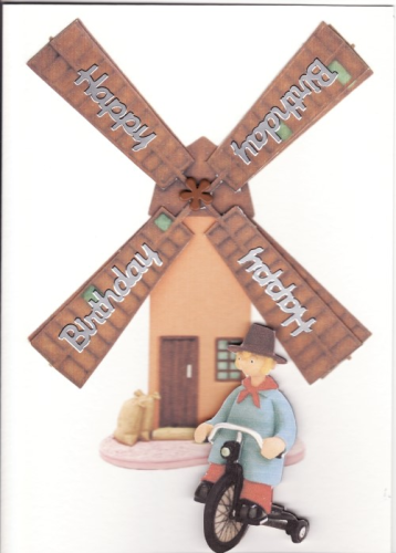 Handmade Camberwick Green Birthday Card