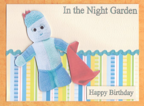 Handmade In the Night Garden Card 2