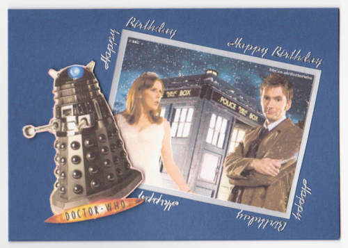 Handmade Dr. Who Card