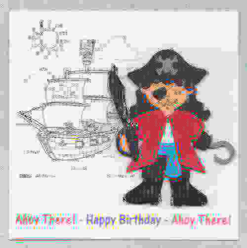 HB17 Ahoy There! Pirate Card