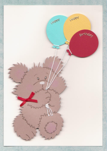 Tatty Teddy with Balloons