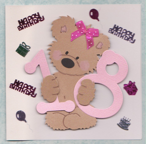 Handmade Special Ages Birthday Cards Windrush Cards Crafts – 18th Birthday Cards for Girls