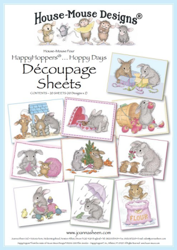 House Mouse Decoupage - Hoppy Days