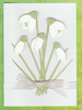 Handmade Birthday Card Snowdrops