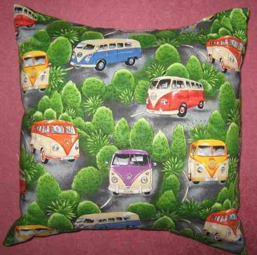 Handmade VW Camper Vans Cushion - Wilderness