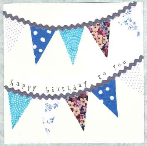 Bunting Blue