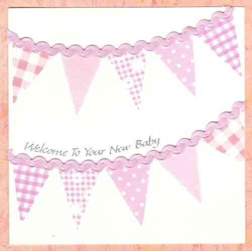 NB63 Bunting Baby Pink