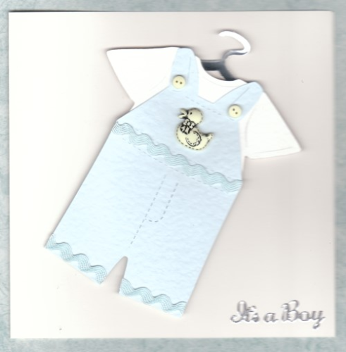 Handmade New Baby Boy Outfit