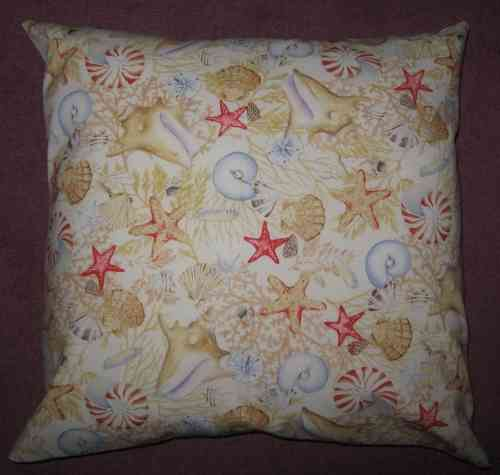 Handmade Beachcomber Cushion - Natural