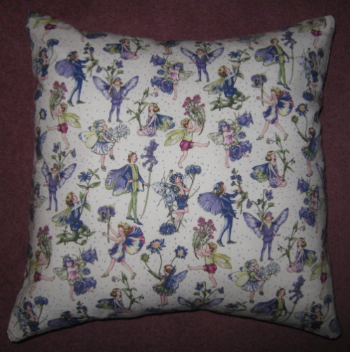 Handmade Cushion - Flower Fairies - Petite Fairies
