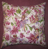 Handmade Cushion - Flower Fairies - Magical Garden Fairies