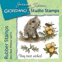 Giordano Rubber Stamps - Very Best Wishes