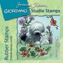 Giordano Rubber Stamps - Friends Always