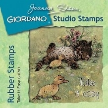 Giordano Rubber Stamps - Take It Easy