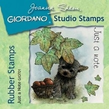 Giordano Rubber Stamps - Just a Note