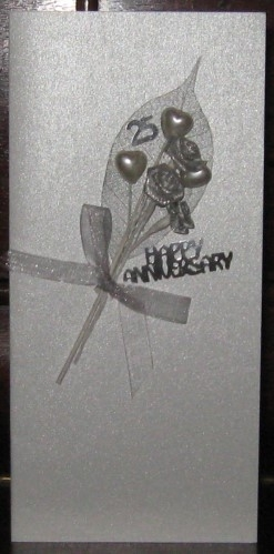 Silver Anniversary Bouquet