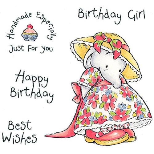 Humphrey's Corner - Birthday Girl Stamp Set