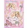 Flower Fairies Rubber Stamp Set - Rose