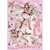 Flower Fairies Rubber Stamp Set - Wild Cherry