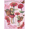 Flower Fairies Rubber Stamp Set - Zinnia