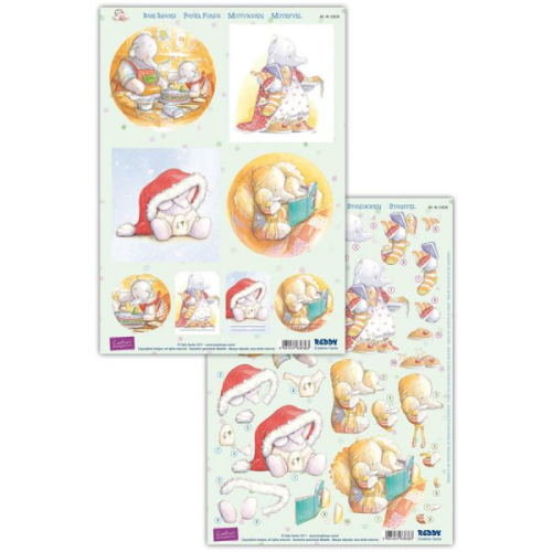 Humphrey's Corner Christmas Die Cut Decoupage Sheet 6
