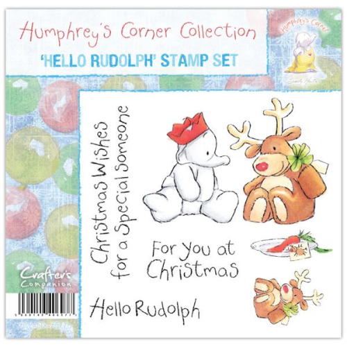Humphrey's Corner Christmas - Hello Rudolph Stamp Set