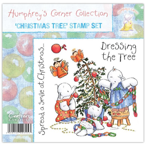 Humphrey's Corner Christmas - Christmas Tree Stamp Set