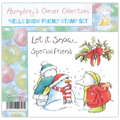 Humphrey's Corner Christmas - Hello Snow Friend Stamp Set