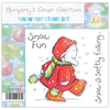 Humphrey's Corner Christmas - Snow Fun Stamp Set