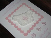 Handmade Baby Girl Cards