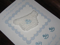 Handmade Baby Boy Cards