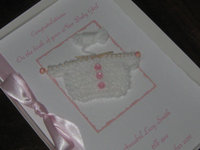 Luxury Personalised Baby Cards