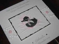 Handmade Christening Cards