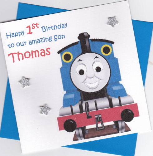 Thomas the Tank Birthday Card
