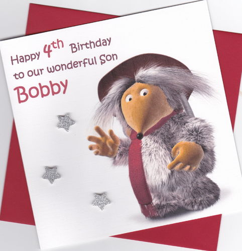 Wombles Birthday Card