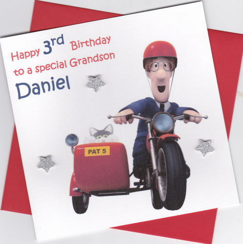 Postman Pat Birthday Card
