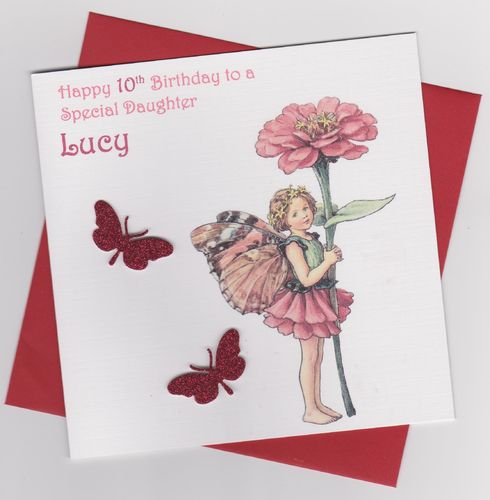 Flower Fairy Birthday Card 5