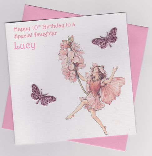 Flower Fairy Birthday Card 6