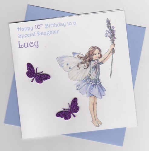 Flower Fairy Birthday Card 7