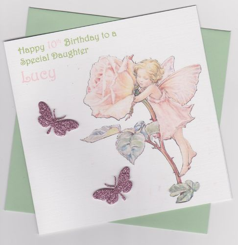 Flower Fairy Birthday Card 8