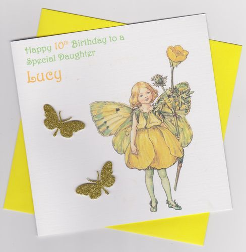 Flower Fairy Birthday Card 9