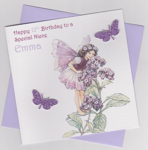 Flower Fairy Birthday Card 10
