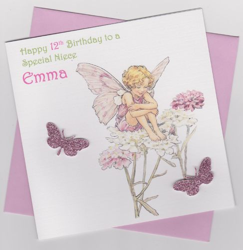 Flower Fairy Birthday Card 11