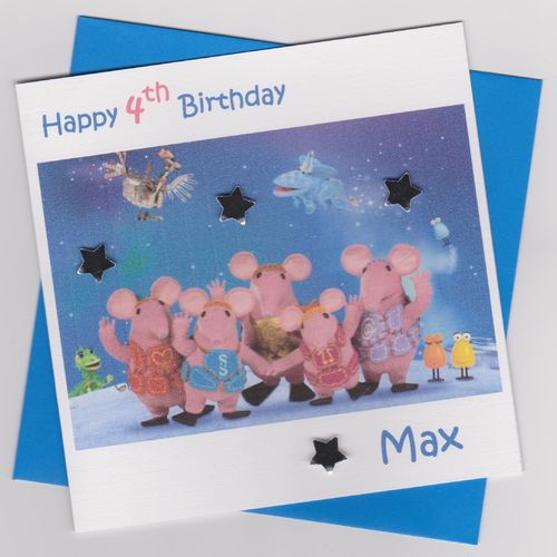Clangers Birthday Card